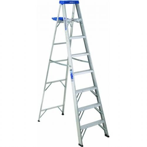 Werner 368 8' Aluminum Step Ladder