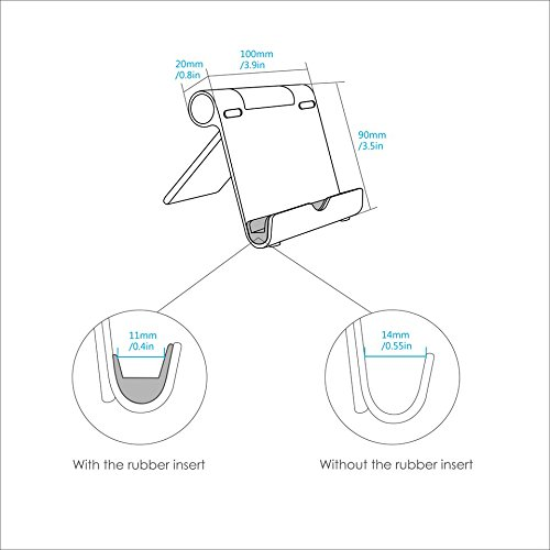 Amazon Com Anker Portable Multi Angle Stand For Tablets E Readers