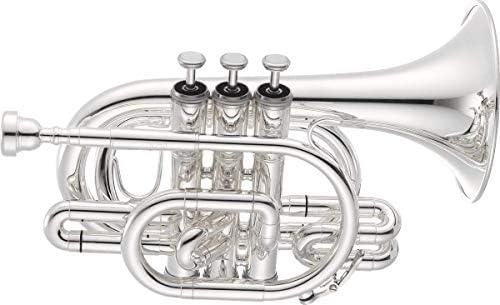 Jupiter Silver Bb Pocket Trumpet, JTR710S