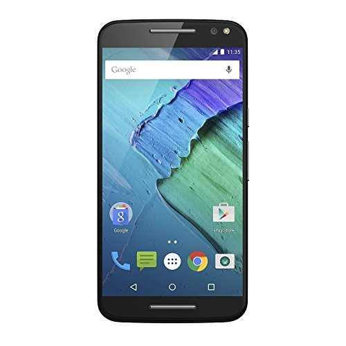Moto X Pure Edition Unlocked Smartphone, 32GB Black (Renewed)