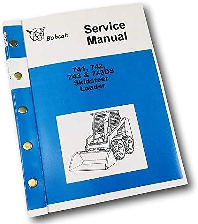 Amazon.com: Bobcat 741 742 743 743Ds Skidsteer - Cuaderno ...