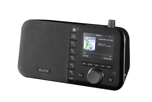 avox indio color internetradio with 35 display amazoncouk electronics - Avox Indio Color