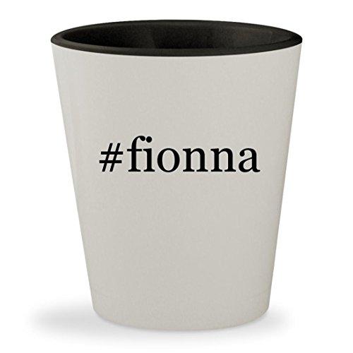 #fionna - Hashtag White Outer & Black Inner Ceramic 1.5oz Shot (Fionna And Cake Costumes)