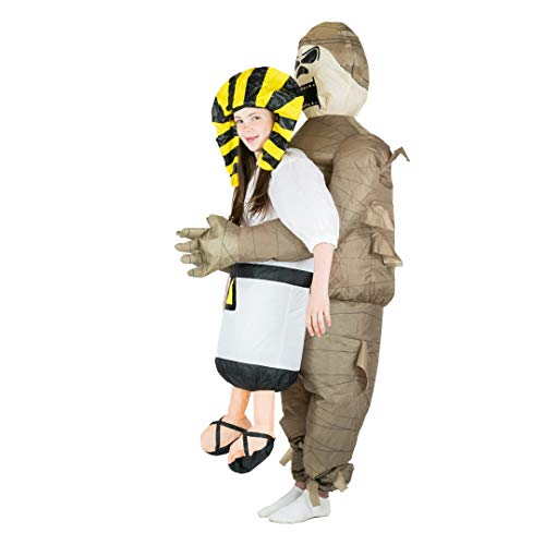 Fancy Dress Mummy (Bodysocks Kids Inflatable Mummy Fancy Dress)