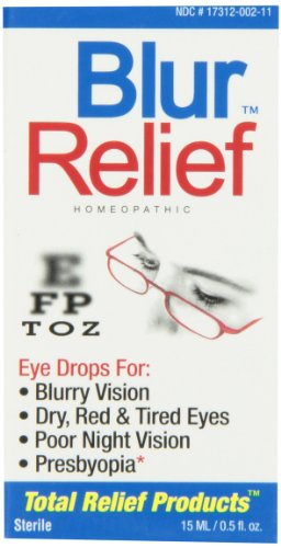 Gouttes Blur Relief homéopathique yeux, 0,5 once Package