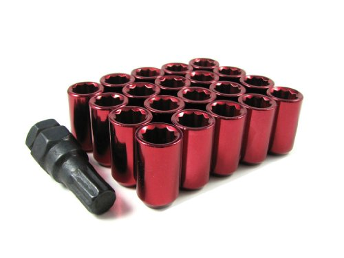 Red Tuner Lugs Nuts - 5