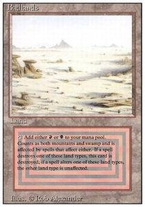 Magic: the Gathering - Badlands - Revised ()