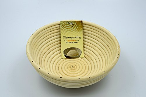 Masterproofing 8-inch Round Banneton Proofing Basket