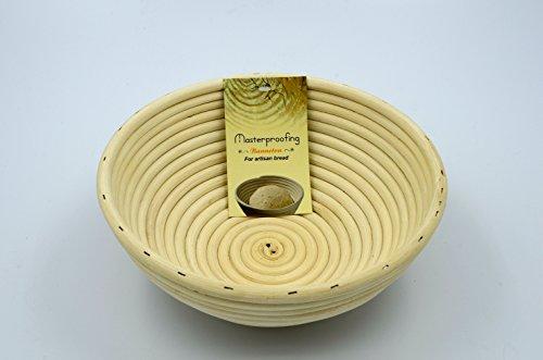 2 Pcs Masterproofing Round Banneton Basket--8 Inch (Banneton Proofing Basket)