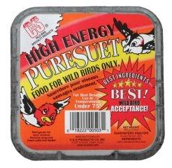 (C & S Products High Energy Pure Suet Cake 10 Ounces - CS503)