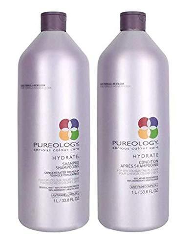 Pureology Hydrate Shampoo 33.8 oz Condition 33.8 oz Duo Set