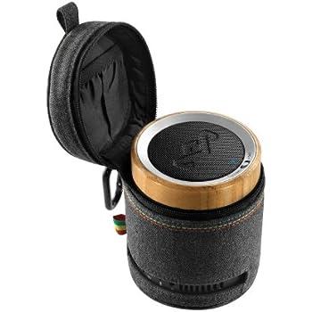 House of Marley Chant Midnight Wireless Bluetooth Portable Audio System Speaker EM-JA004-MI