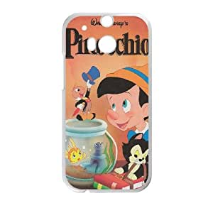 HTC One M8 Cell Phone Case White Pinocchio sfsd7973351 cheap phone covers