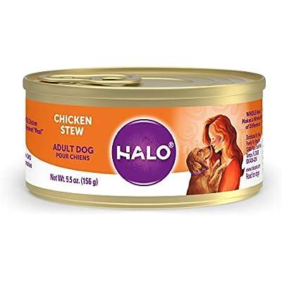 Halo Natural Wet Dog Food, Chicken Stew