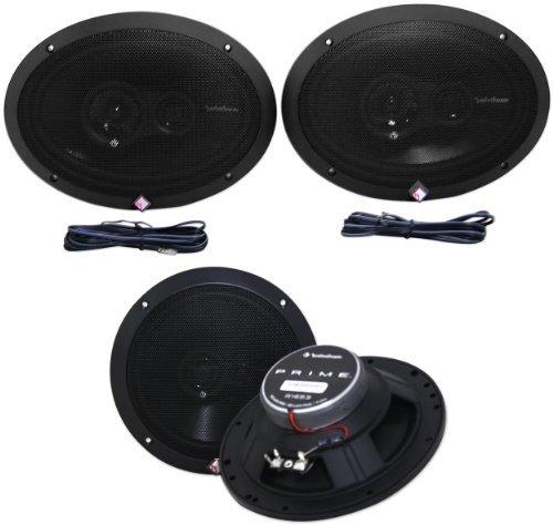 (Rockford Fosgate R1693 6x9? Prime Series 3 Way 240 Watt Full-range Car Speakers)