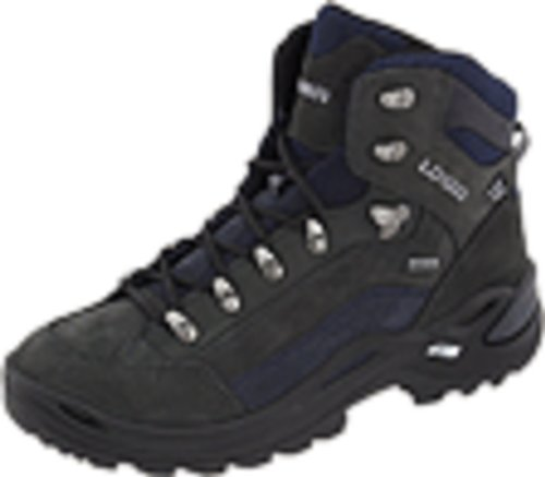 Lowa Women's Renegade GTX Mid Hiking Boot Dark Grey/Navy