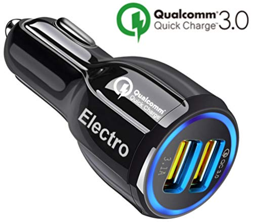 Car Charger QuickCharge 3.0 35W Adapter Usb Fast Charge, Por