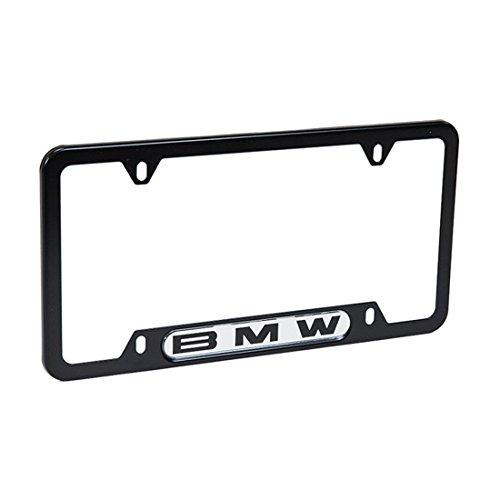 (BMW License Plate Frame Wording (Black))