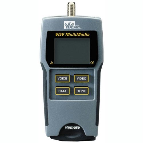 Multimedia Wire - Ideal Industries 33-856 VDV Multimedia Cable Tester