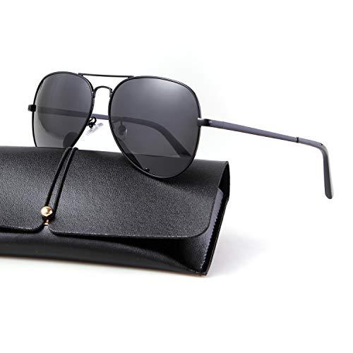 46fa8ebcc Aviator Sunglasses for Women 80s Sunglasses Mens Polarized Sunglasses  Classic Style 62mm