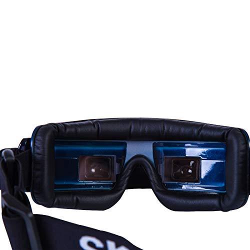 Skyzone SKY03O OLED /SKY03S 5.8GHz 48CH Diversity FPV Goggles Support OSD DVR HDMI with Head Tracker Fan LED for RC Racing Drone (SKY03O Diamond Blue)