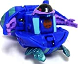 : Bakugan Battle Brawlers Game Single LOOSE Figure Aquos Preyas [Blue]