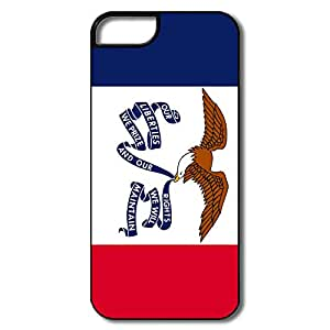 Custom Scratch Rsistant Flag USA Iow State For Iphone 5s Cases