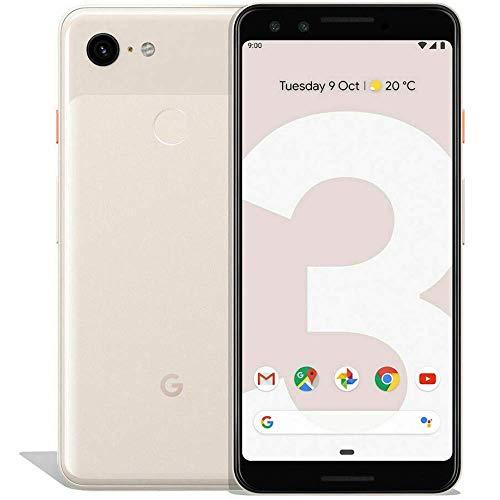 Google Pixel 3 (64GB, 4GB RAM) 5.5 QHD+, IP68 Water Resistant, Snapdragon 845 GSM/CDMA Factory Unlocked (AT&T/T-Mobile…