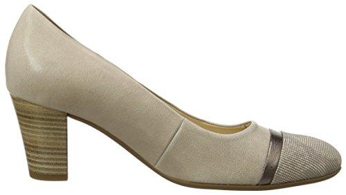 Leinen con Gabor Puder Shoes Tacco Comfort 22 Scarpe Rosa Donna 8OqxOS