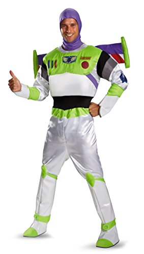 Buzz Lightyear Prestige Adult Costume - X-Large -