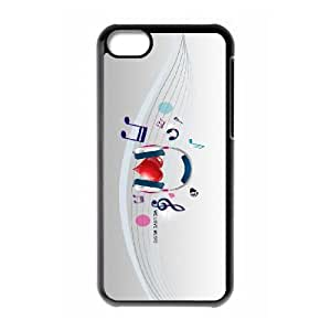 we love music 2 iPhone 5c Cell Phone Case Black 91INA91336200