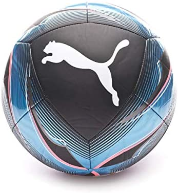 PUMA Icon Ball Balón de Fútbol, Unisex-Adult, Black-Luminous Blue ...