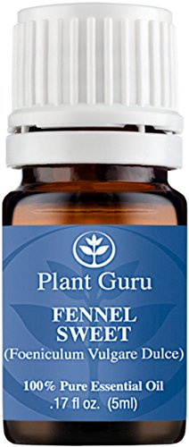 Fennel Sweet Essential Oil. 5 ml. 100% Pure, Undiluted, Therapeutic Grade. Sample Size