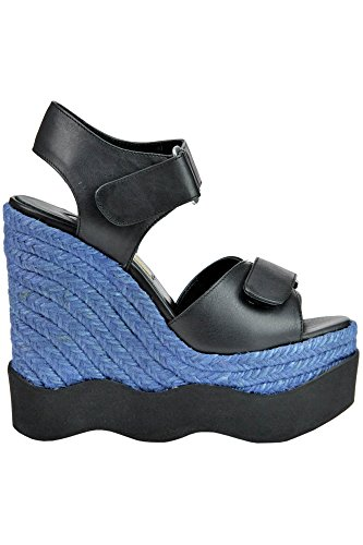 BARCELÓ Compensées PALOMA Femme Noir Cuir MCGLCAT03174E Chaussures xH8HwZR