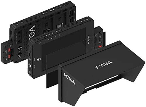 3G SDI // 4K HDMI Input//Output,1920x1080 3D LUT Dual NP-F Battery Plate for DSLR Mirrorless Cinema Camera FOTGA A70TLS 7 Inch Touch Screen FHD IPS Video On-Camera Field Monitor