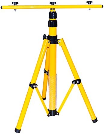 stabiles Stahlstativ für Baustrahler 65-150cm Stativ für LED Fluter 30W//50W
