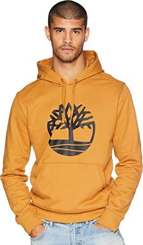 Timberland Men's Seasonal Logo Hoodie Sweat Wheat Boot Tree XX-Large by Timberland