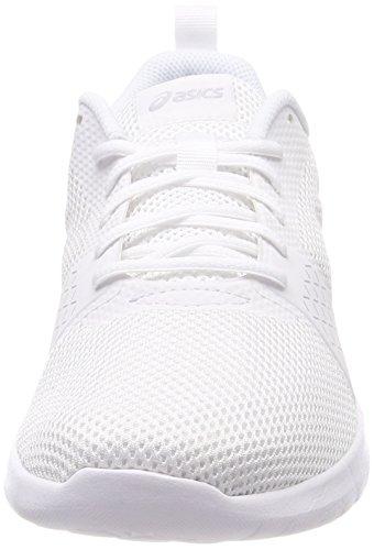 ASICS Women's Kanmei MX, White/White/Silver White/White/Silver