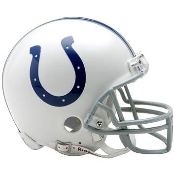 Riddell – Casco de fútbol americano Mini de Indianapolis Colts