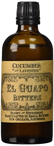 El Guapo Bitters, Bitters Cucumber And Lavender, 100mL 2