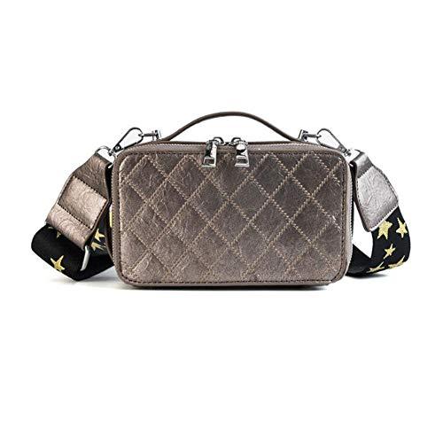 Cadena Mujer Qzny Shopping Bolsa Fiesta Tipo Invierno Cuadrada Un Mensajero Wild Caja De Bag Fecha Bolso Totes New Asa Superior Lady Femenino qrFYrEc