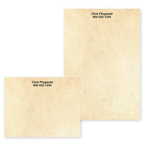 (Speckled Cream Personalized Post-it Notes - 4