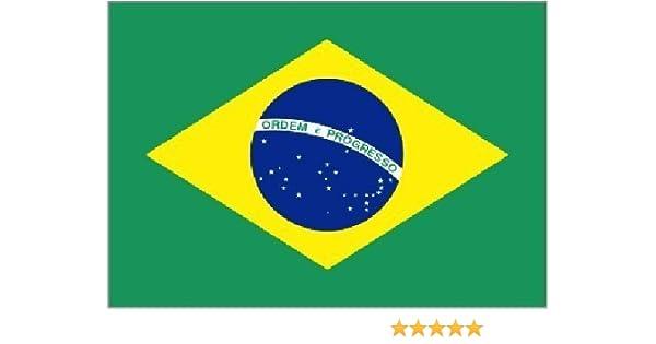 Gigante Brasil Brasileño - 8ft x 152cm Bandera Decoración: Amazon ...