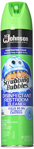 Scrubbing Bubbles Sc Johnson Professional Scrubbing Bubbles Disinfectant Restroom Cleaner, 25 Ounce each (Pack of 12) by Scrubbing Bubbles (Image #4)