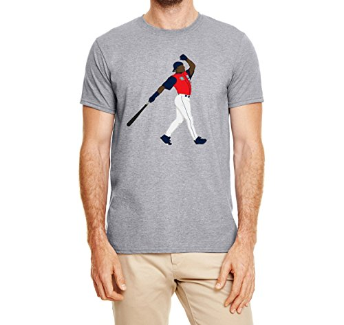 (Tobin Clothing Gray Seattle Griffey Jr Home Run Derby T-Shirt Adult Medium)