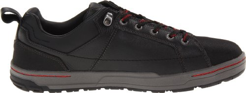 Caterpillar Leather Caterpillar Toe Mens Shoe Brode Black Work Mens Steel rrwZfq