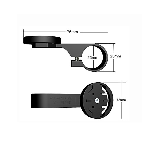 Garmin Out-Front Bike Computer Mount - Garmin Edge TT Handlebar 23MM Mounting Accessory for the Edge 200/500/510/520/800/810/820/1000 (Black) by Pin Yuan (Image #5)