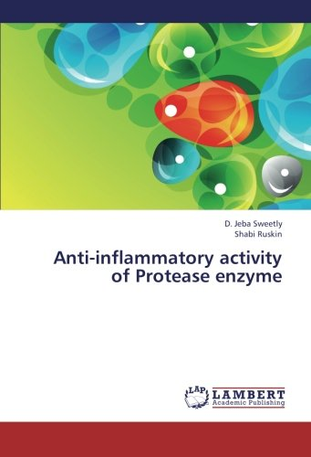 Anti-inflammatory activity of Protease enzyme