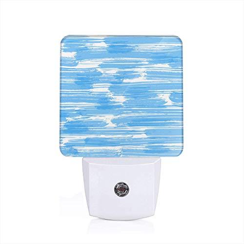 (Messy Blue Bridget Farmer Night Light Automatic Sensor Home LED Wall Lights Mini Indoor Lighting Trendy Save Sleep Lamp Room Decor )