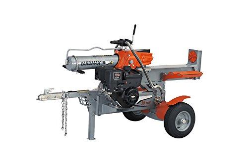 YARDMAX YS3567 35 Ton Half Beam Gas Log Splitter, 4-Way Wedge, Briggs & Stratton, CR1450, 10.5HP, 306cc